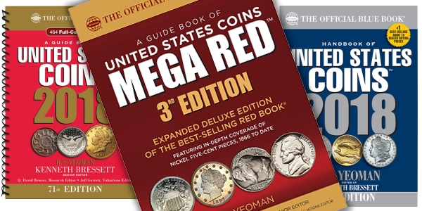 Mega Red US Coin Reference Book