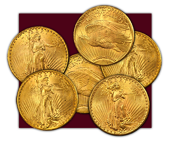 $20 Dollar Gold Coins