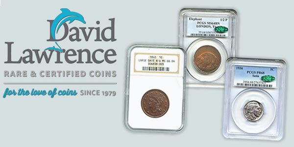 David Lawrence Rare Coins #976