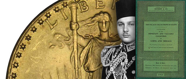 King Farouk - 1954 Sale