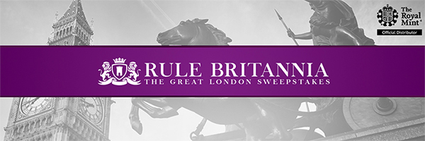 APMEX Rule Britannia Sweepstakes