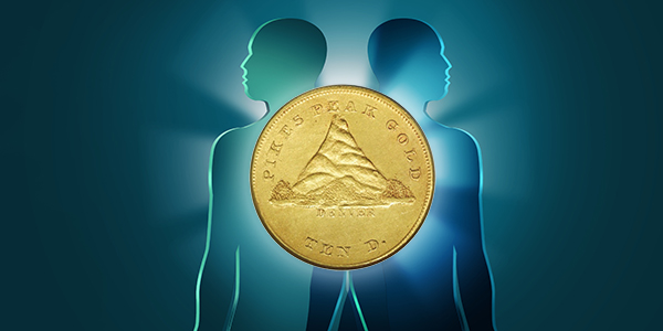 Pikes Peak Gold Ten Dollars